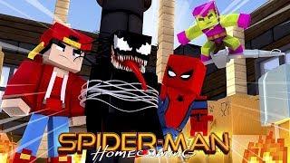 SPIDER-MAN HOMECOMING - MINECRAFT ADVENTURE - EPISODE 8