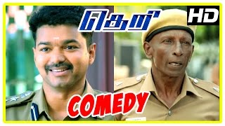 Theri movie | Full Comedy Scene | Samantha | Amy Jackson | Rajendran | Baby Nainika | Raadhika