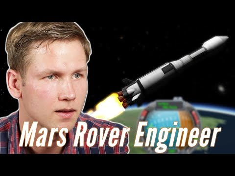 Real Mars Rover Engineer Builds A Mars Rover In Kerbal Space Program • Professionals Play