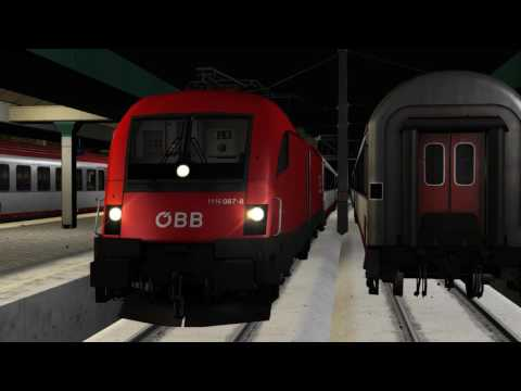 Skyhook ÖBB Rh1116 Taurus ES64U2 Dreiländereck Train Simulator 2017