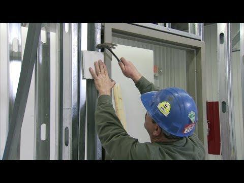 Xxx Mp4 How To Install A Steel Door Frame In Steel Stud Construction 3gp Sex