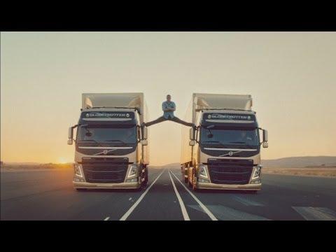 Xxx Mp4 Jean Claude Van Damme Performs Splits Between Two Moving Volvo Trucks 3gp Sex