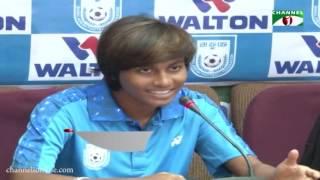 সাফ ফুটবলের জন্য সোমবার ভারত যাচ্ছে বাংলাদেশ নারী দল