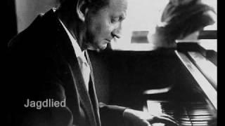 Kempff plays Schumann Waldszenen, op.82 (III)