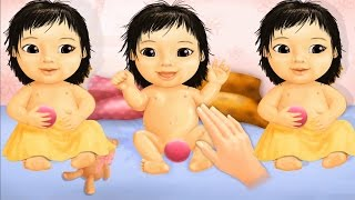 Baby Games To Play Bath Time, Feed And Dress Up Game For Children