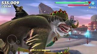 Hungry Shark World Megalodon Android Gameplay #5