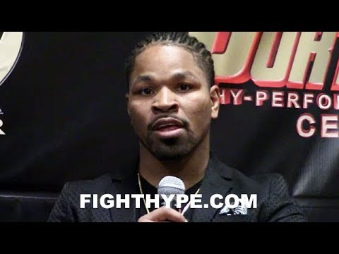 SHAWN PORTER SOUNDS OFF, CALLS KEITH THURMAN A CHILD; DEMANDS REMATCH AND GETS VOCAL WITH WBC