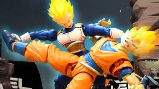 Goku VS Vegeta Stop motion