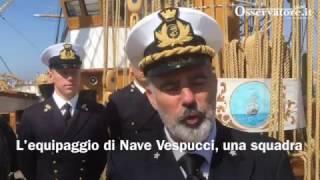 L'equipaggio di Nave Vespucci, una squadra