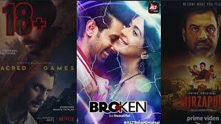 18+ Top 10 web series Best hindi web series (2018)