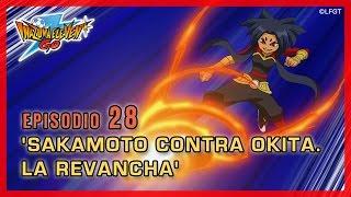 Inazuma Eleven Go Chrono Stones - Episodio 28 español «¡Sakamoto contra Okita, la revancha!»