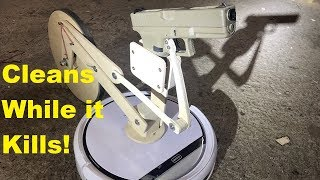 How To Weaponize A Vacuum Cleaner Robot (Glock Modding)
