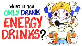 What If You Only Drank Energy Drinks?