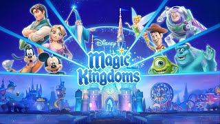 Disney Magic Kingdoms (by Gameloft) - iOS / Android - HD Gameplay Trailer