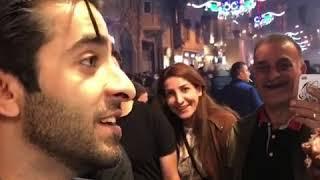 Mahira Khan and Turkish Ice cream