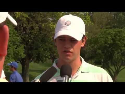 2014 Western Amateur Beau Hossler highlights and interview