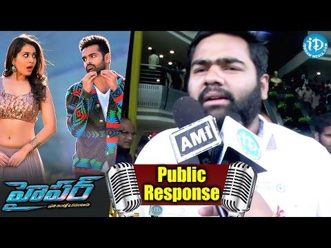Ram's Hyper Movie Public Response /