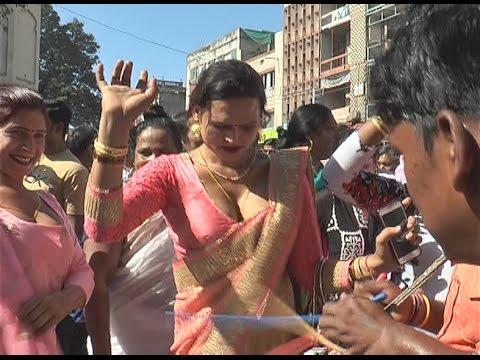 Hot Beautiful indian kinner dancing indore