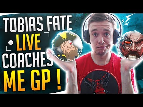 Redmercy | TOBIAS FATE COACHES RED TO GET MASTERS ON GP..ft. Pokimane - League of legends