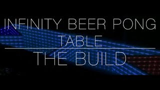 INFINITY MIRROR BEER PONG TABLE