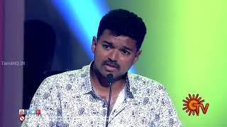 Aalaporan thamizhan video song from mersal