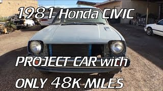 Project 81 Civic Pt. 1 -The Car