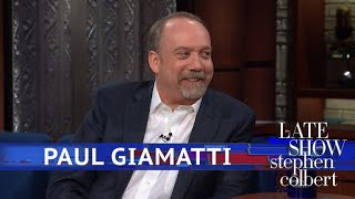 Paul Giamatti And Stephen Are Science Fiction Nerds