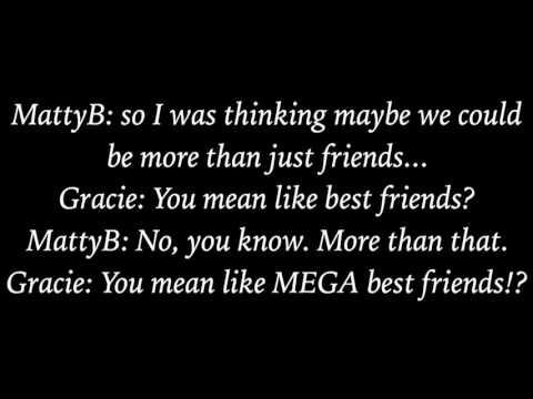 Friend Zone - MattyBRaps ft. Gracie Haschak (Lyrics)