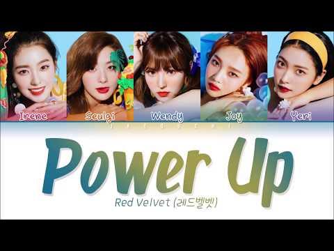 RED VELVET (레드벨벳) - 'POWER UP' Lyrics (Color Coded EngRomHan가사)