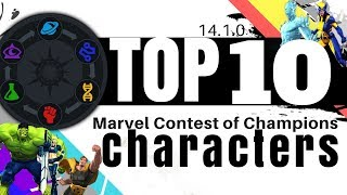 Top 10 MCOC Characters - Patch 14.1.0 | Marvel Contest of Champions
