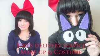 Kiki's Delivery Service Makeup & Costume || Easy Halloween Costume 2015
