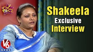 Shakeela Real Life || Shakeela Exclusive Interview || V6 Taara (01-03-2015)