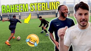 RAHEEM STERLING VS F2FREESTYLERS *INSANE SKILLS*