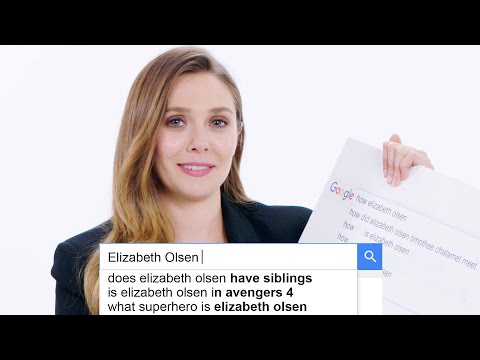 Elizabeth Olsen Answers the Web s Most Searched Questions WIRED