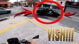 CYCLONADO MÓ CHAVE DE XJ6 E DERREPENTE A POLICIA CIVIL! 😰