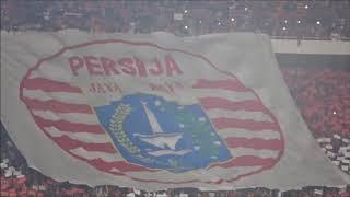 KOREO 3 TRIBUN   Atmosfer Jelang Kick Off Persija vs Home United   AFC CUP 2018   FULL HD