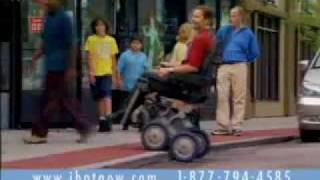 iBot Robotic Wheelchair Commercial