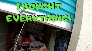 Abandoned Storage Unit Auction Buying Spree I Went Crazy And Bought Everything