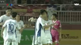 Video: Xuân Trường với pha sút phạt thần sầu vào lưới Sài Gòn FC