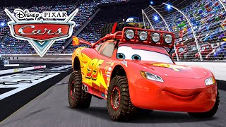 CARS movie character - lightning McQueen - best friend from Mater (cut from full gameplay)