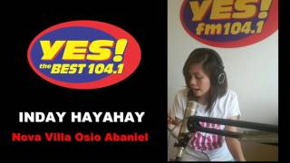 YES The Best Valencia - Inday Hayahay sings Born for you