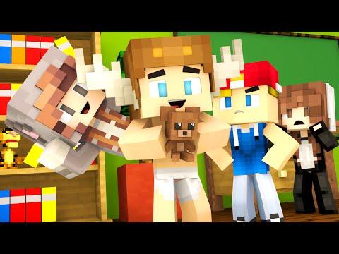 Minecraft Kindergarten NEW FRIENDS PSYCHOS AND BULLIES Minecraft Roleplay 1