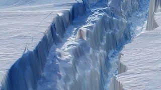 Antarctic Continent is Splitting in Half- Strange Events Detected Worldwide