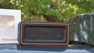 30W Waterproof Bluetooth Speaker Unboxing & Review ( Turcom HR-903 AcoustoShock )