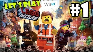Let's Play LEGO Movie - Part 1: Lord Business' First Battle | | Father Son Co-Op Walkthrough Wii U