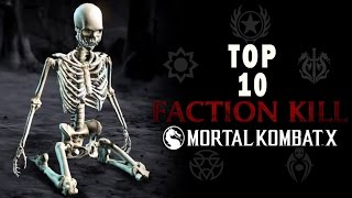 TOP 10 MEJORES FACTION KILL DE MORTAL KOMBAT XL - MaxiLunaPMY