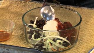 Easy Bean Burritos Recipe for iDiet Dieters HD