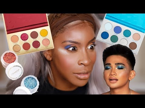 Bretman You Ain't SLICK Trying the Bretman Colourpop Collection Jackie Aina
