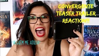 Allegiant/Convergente teaser trailer reaction | Mari Coutinho
