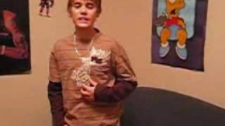 With You - Chris Brown Cover - Justin Bieber Singing